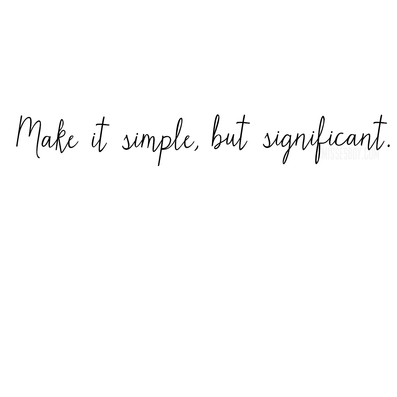 Simple Quote: Quote (Make It Simple)